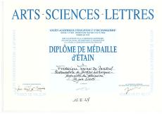 Diplome ASL-230
