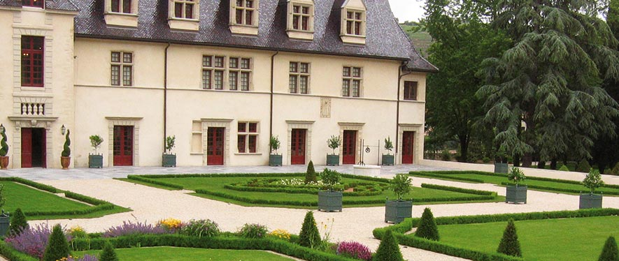 Jardins du château d'Ampuis Condrieu