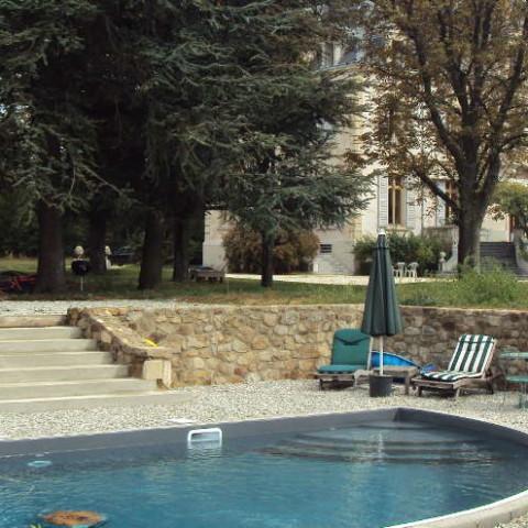 Annonay (07) Création d'une piscine