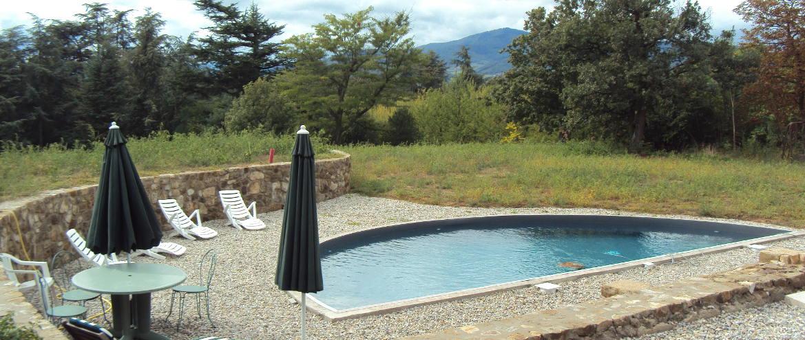 Annonay-Création d'une piscine dans un parc XIXe