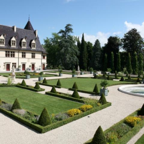 Jardin du Château d'Ampuis (69)