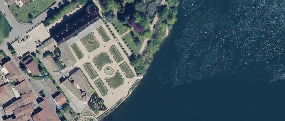 Jardin du château d'Ampuis